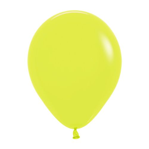 "Neon Solid Yellow 220 Latex Balloons 5""/13cm - 100 PC"